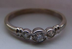 Gorgeous White Gold Ring 1 by Gracies-Stock