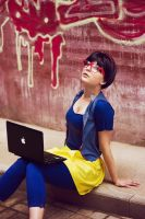 hipster snow white by Gennadia
