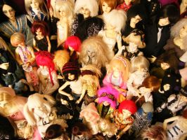 wall to wall dolls by child-of-aros