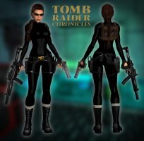 Lara Croft TR5 - Catsuit by Larreks