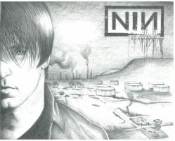 Trent Reznor Portrait by DMcAllister