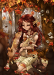 Aniway Organiser - Autumn Animal Party by ICanReachTheStars