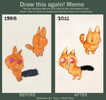 Draw this again Meme - Jollyversion by JollyRotten