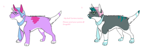 Hip Bull Terriers Auction (_OPEN!_) by DRUGSXx