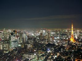 Tokyo at Night 2 by Octavain