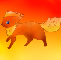 Flareon by Sparkylovecupcakes