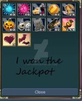 Cat Won The Jackpot by cattamer