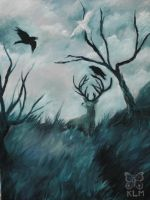 King Stag by AriesNamarie