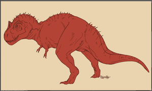 red rex wip by Paleona