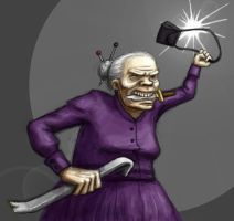 Hardcore Granny by Tuinen