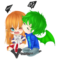 Stop biting me in public, for love of god!!! by AndiciaInWonderland