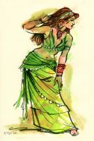 Green Gypsy by ChristineAltese