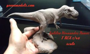 T Rex 1/48 by GalileoN