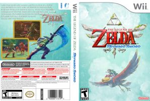 Skyward Sword Cover Concept by CapuchinoMedia