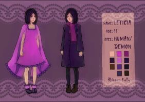 Leticia [reference] by RhinnonKelly