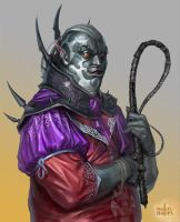 Drow adviser by Zaryuta
