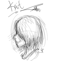 live study: Kait by hugfiend