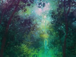 Empathic Forest Nature by DM7