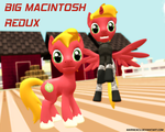MLP: Big Macintosh REDUX (Download) by MarineACU