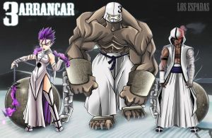 Arrancar -Number 3 Group OC's by Darkness1999th