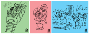 Music Doodles by LaptopGeek