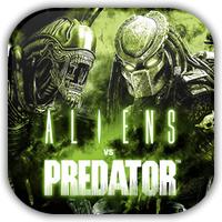 Aliens Vs Preator Game Icon by Wolfangraul