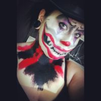 Creepy Clown makeup by forevernotsinking99