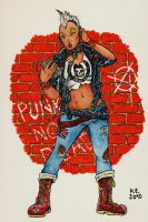 Punk Storm by oh-the-humanatee