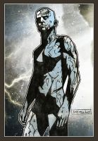 The Silver Surfer by CartoonCaveman