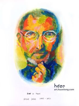 Steve Jobs by hazelong