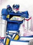 January: Soundwave by Mistress-D