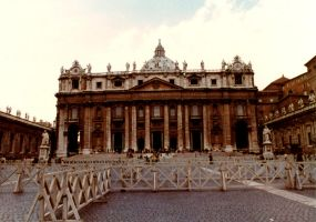 St. Peters, Rome by JulianasGrandma