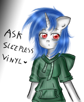 Ask Sleepless Vinyl by Noah-Nyan