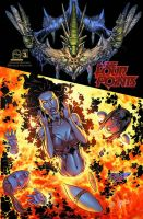 The Four Points #3 cover C colors by Arciah