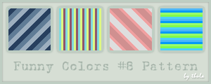 Funny Colors vol.8 Pattern by ThulaMarquise
