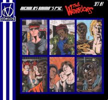 The Warriors PSCs - Set 1 by The-Real-NComics