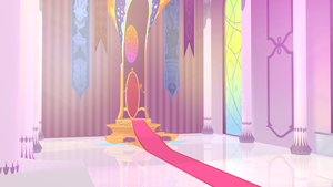 Princess Celestia's Throne Room by DevolutionEX