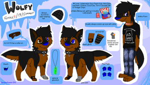 Wolfy's Reference Sheet by Haaaze