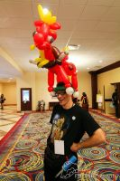 Big Macintosh Balloon Hat by NoOrdinaryBalloonMan