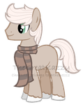 Scarf Cutie for Athene112 by Fluffle-Muffins
