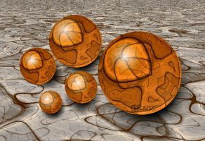 Glass Balls by LaxmiJayaraj