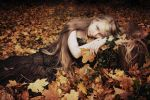Autumnal elf by Cambion-Art