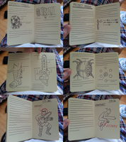 G's File-Curien's Notes Journal WIP 04 by StealthNinja5
