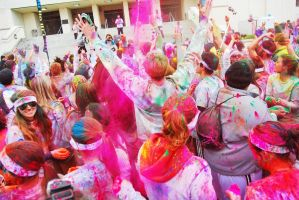 The Color Run Party by SublimeBudd