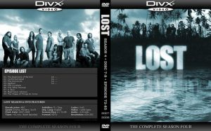 LOST Season 4 DVD Cover by by2on