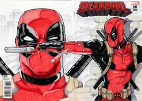 Deadpool cover by glencanlas