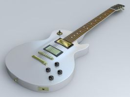 Les Paul Custom Guitar by Shadow106