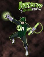 Daredevil - Green Lantern by DBed