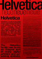 Helvetica by lomihnat