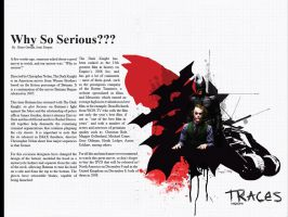 DARK KNIGHT article for traces by gregorydarwin